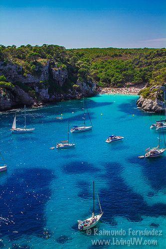Cala Macarelleta,  Menorca  Spain