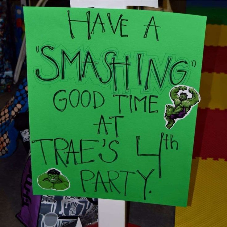 Hulk Birthday Party Ideas | Photo 5 of 14
