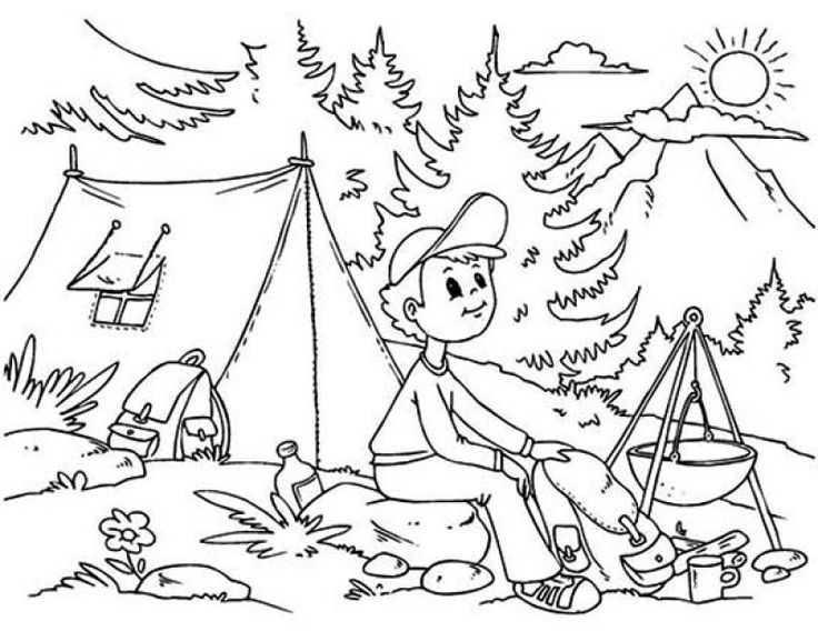 Coloring Pages For Summer Holidays : 60 best holiday coloring pages images on pinterest