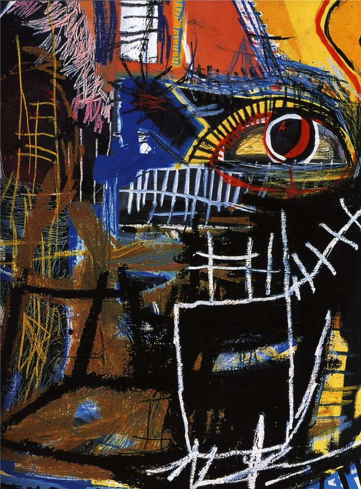 Head - Jean-Michel Basquiat - WikiPaintings.org