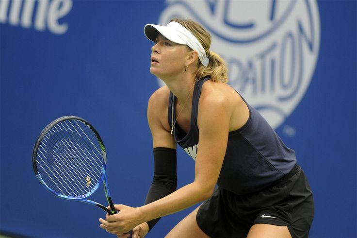 Мария Шарапова одержала первую победу после возвращения на корт  Теннисистка успешно завершила первый круг турнира Большого шлема.