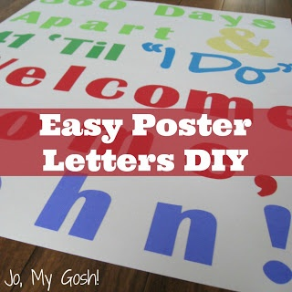 How to make professional-looking letters for homecoming posters with Microsoft Word!