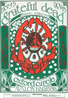 Documenting The Dead: The Posters of the Grateful Dead Archive | Grateful Dead