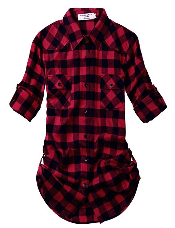 Xsmall-small red flannel