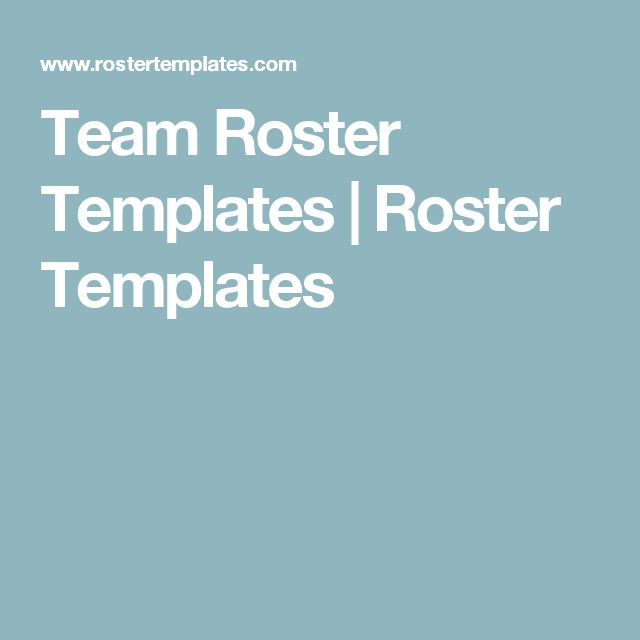 115 best Office Work images on Pinterest Role models, Template - football roster template
