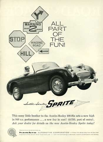 46 best images about Austin-Healey Car Ads on Pinterest | Poster ...