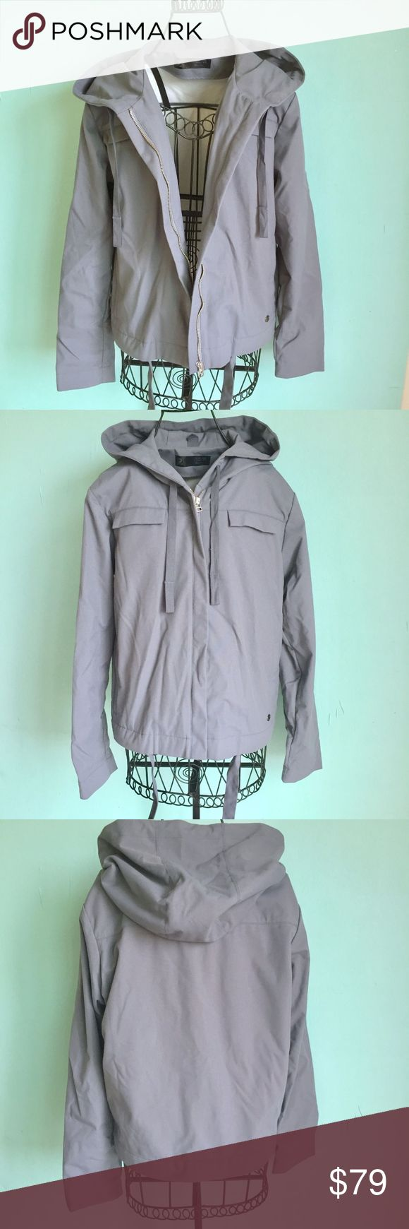 Adidas Jacket Dark Grey Raincoat Windbreaker ZipUp Adidas SLVR / A000 Jacket Dark Grey Raincoat Windbreaker Women's Zip Up Hoodie. In excellent preowned condition. Size M. Hard to find. Check out my closet, bundle and give me your offer! adidas Jackets & Coats