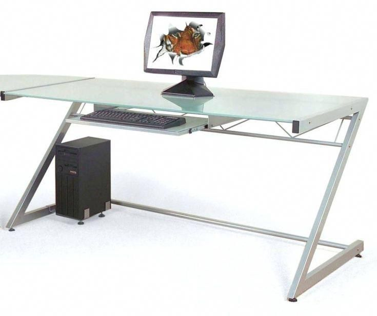 Glass Top Office Desk Canada Best Sit Stand Desk Check More At Www Sewcraftyje In 2020 Home Office Furniture Desk Contemporary Computer Desk Glass Computer Desks