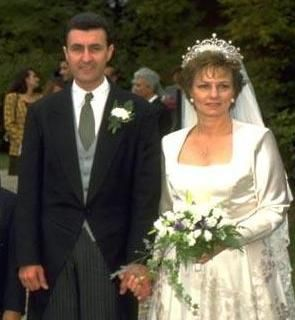 Crown Princess Margarita of Romania and Radu Duda September 21, 1996