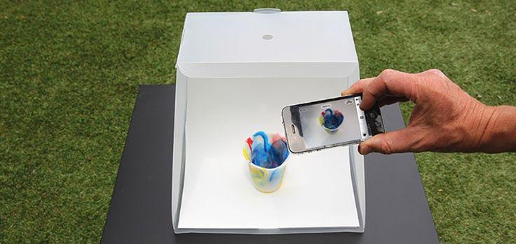 Lightcase : un concept de studio photo mobile pour prendre des photos professionnelles avec votre smartphone