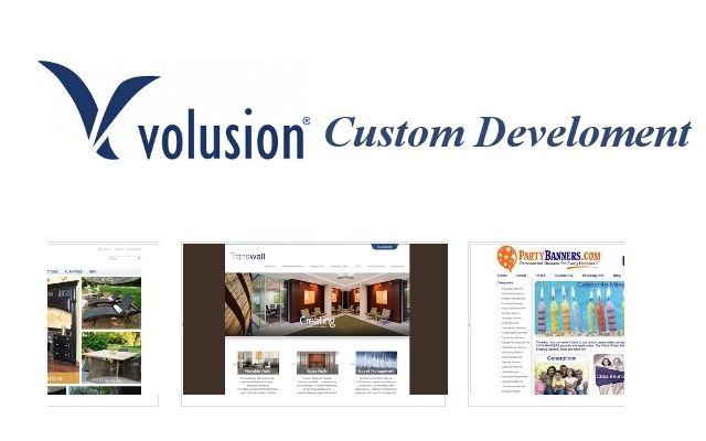 Custom volusion development