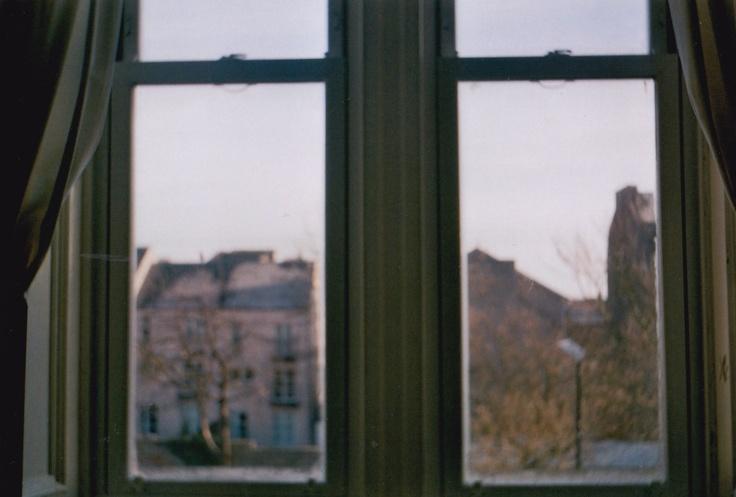 Winter windows.