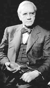 Sir Alexander Fleming...Discovered antibiotics--- perhaps the single most important contribution to the human race.