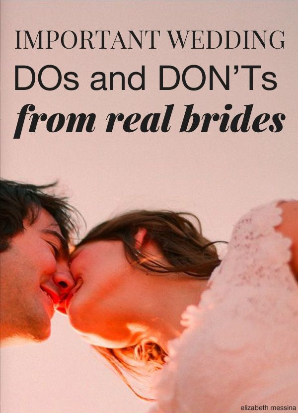 These important wedding planning tips & advice from real brides is a must read for all newly engaged ladies out there!