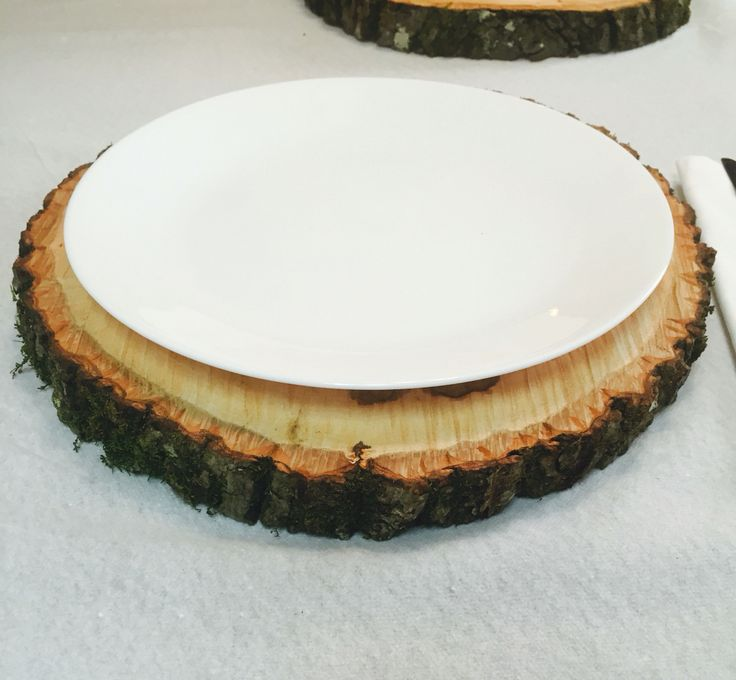 Best images about wood slice centerpieces on pinterest