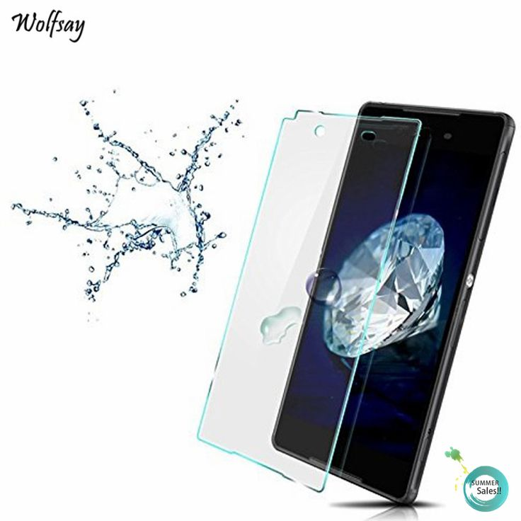 2pcs For Glass Sony Xperia Z3 Screen Protector Tempered Glass For Sony Xperia Z3 glass For Sony Z3 D6603 D6653 D6616 Wolfsay #Affiliate