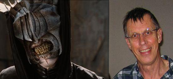 15-La boca de Sauron – Bruce Spence (El Señor de los Anillos – El Retorno del Rey-versión extendida)