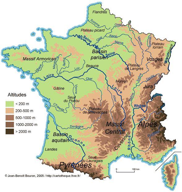 Séquence : les grands types de paysage en France (documents, diaporamas, questionnaires...)