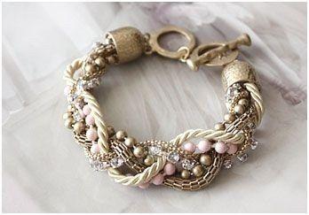 "Kathy Cho etsy shop ""mia shoe box"" ($38.99) (chain, cord, beads, ...)"