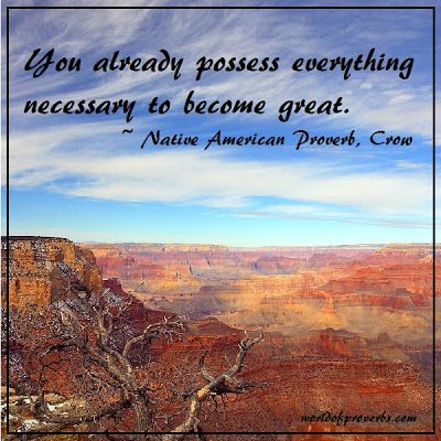 World of Proverbs - Famous Quotes: Native American