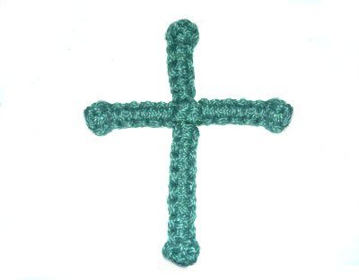 Making A Wire Wall Cross Craft