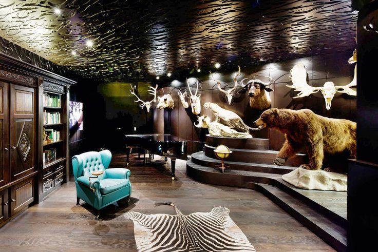 Villa am Weinberg: Jagdzimmer für gesellige Nächte ...