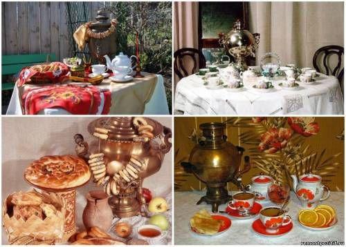 Интерьер и декор для чаепития. Чайные традиции России и стран Средней Азии