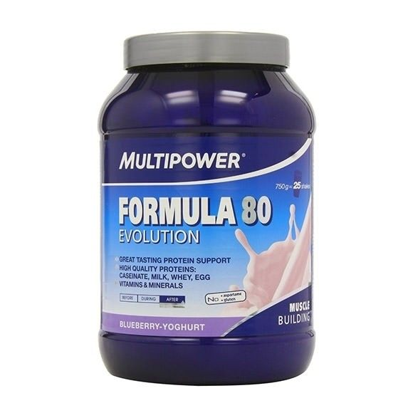 Multipower Formula 80 Evolution 750g