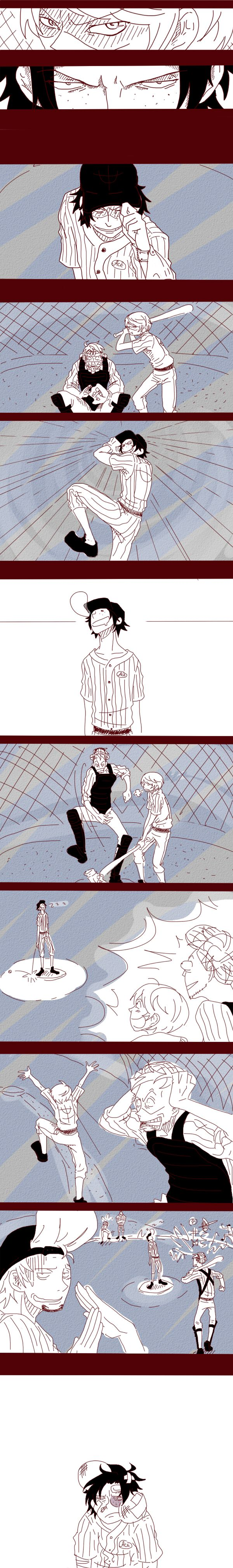 WB baseball or never play with Ace part 2 by emiru-zvezdanut.deviantart.com on @deviantART