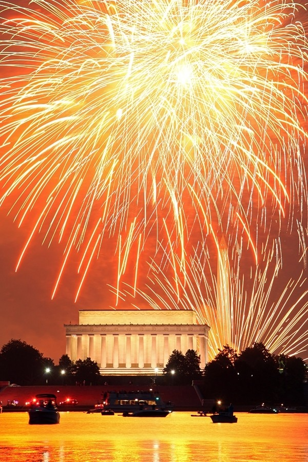 July 4th fireworks in Washington, D.C. (PHOTOS)