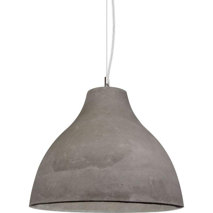 Concrete no 3 industrial pendant light buy it now at schots melbourne australia