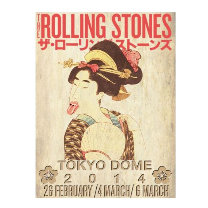 ストーンズ来日 ザ・ローリング・ストーンズ 14 ON FIRE ジャパンツアー