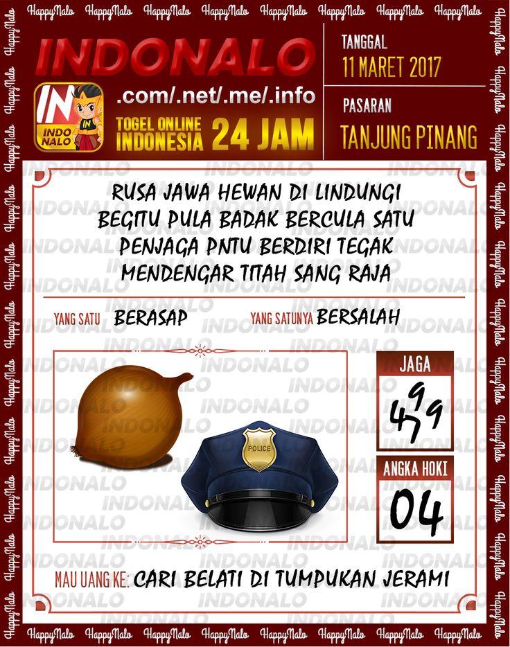 Kode Alam 3D Togel Wap Online Indonalo Tanjung Pinang 11 Maret 2017