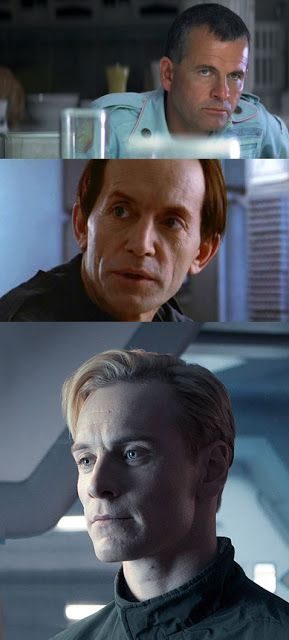 """Synthetics""or ""artificial persons"" Ash (Alien), Bishop (Aliens) and David (Prometheus) Source: http://synetheticdreamers.blogspot.com/2012/06/i-just-returned-from-prometheus-and-i.html Synthetic: http://avp.wikia.com/wiki/Synthetic"