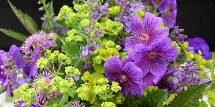 EN BUKET FRA HAVEN - Garden Bouquet