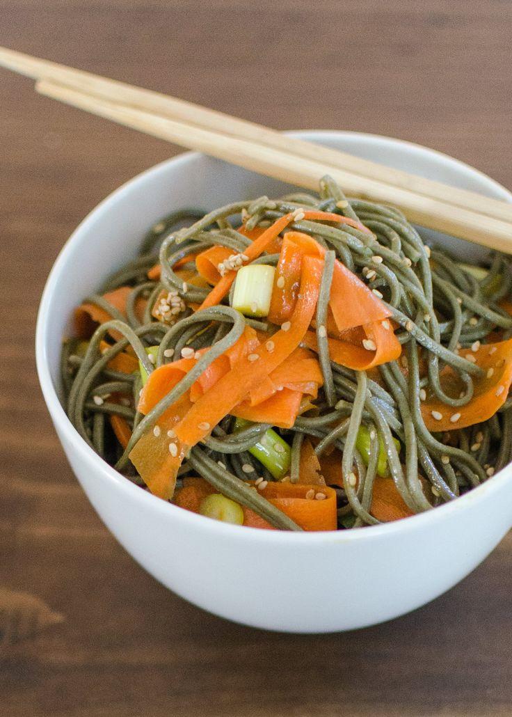Recipe: Soba, Sesame and Carrot Salad