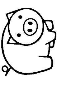 Afbeeldingsresultaat voor kleurprenten varken
