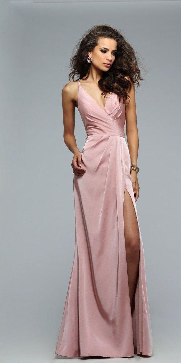 Faviana 7755 Satin Prom Dress - Faviana - 7755 - $318.00
