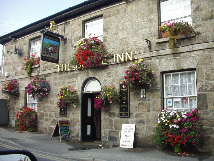 The Bugle Inn, St. Austell, Cornwall - lovely pub