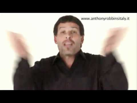 Anthony Robbins: la forza delle decisioni