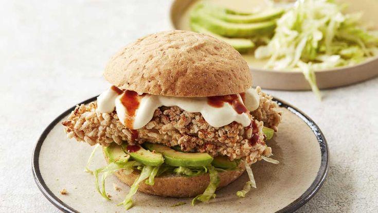 Beautiful chicken burger recipes