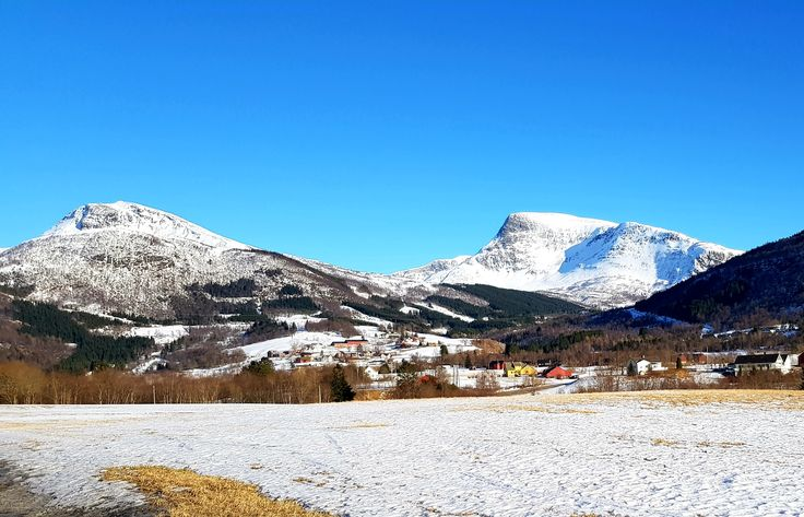 Beautiful landscape in Norway.