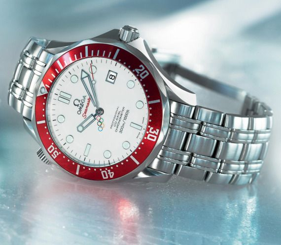 Omega Seamaster Professional Vancouver 2010 Olympics Watch