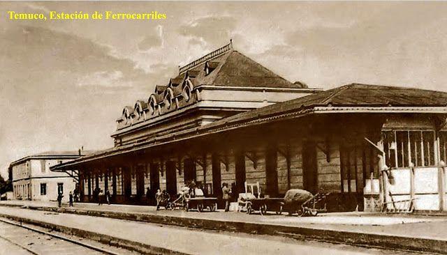 Imágenes de Chile del 1900: Temuco, Lonquimay, Freire y Nueva Imperial