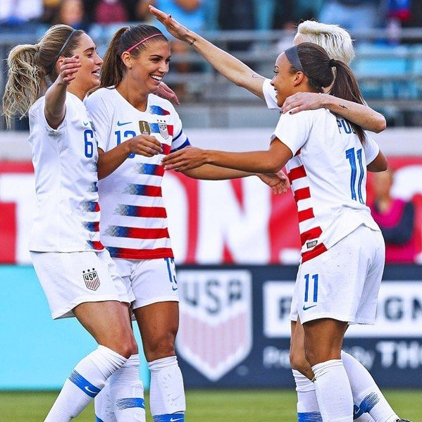 Members Of The Us Women S Soccer Team Are Going To Equal Parity On Friday Twenty Eight Membe Women S Soccer Usa Soccer Women Women S Soccer Team