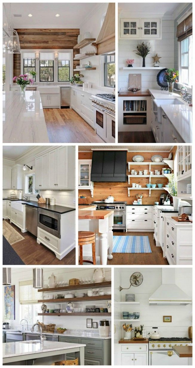 275 best kitchens images on pinterest dream kitchens white kitchen feature walls ideas wood planked and shiplap