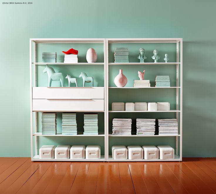 Lucrurile tale dragi își pot găsi un loc în etajera FJÄLKINGE.
