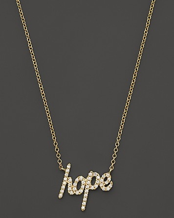 Meira T Hope Necklace, 0.18 ct. t.w. | Bloomingdale's #BloomingdalesProm