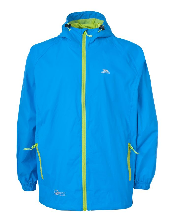 Trespass Qikpac Lightweight Waterproof Jacket only £24.99 inc FREE del