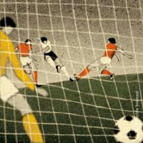 1974 World Cup Final art.